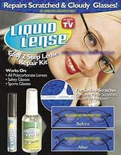 Eyeglass Repair Kit For Scratches : As Seen On TV Products -- Scratch B Gone